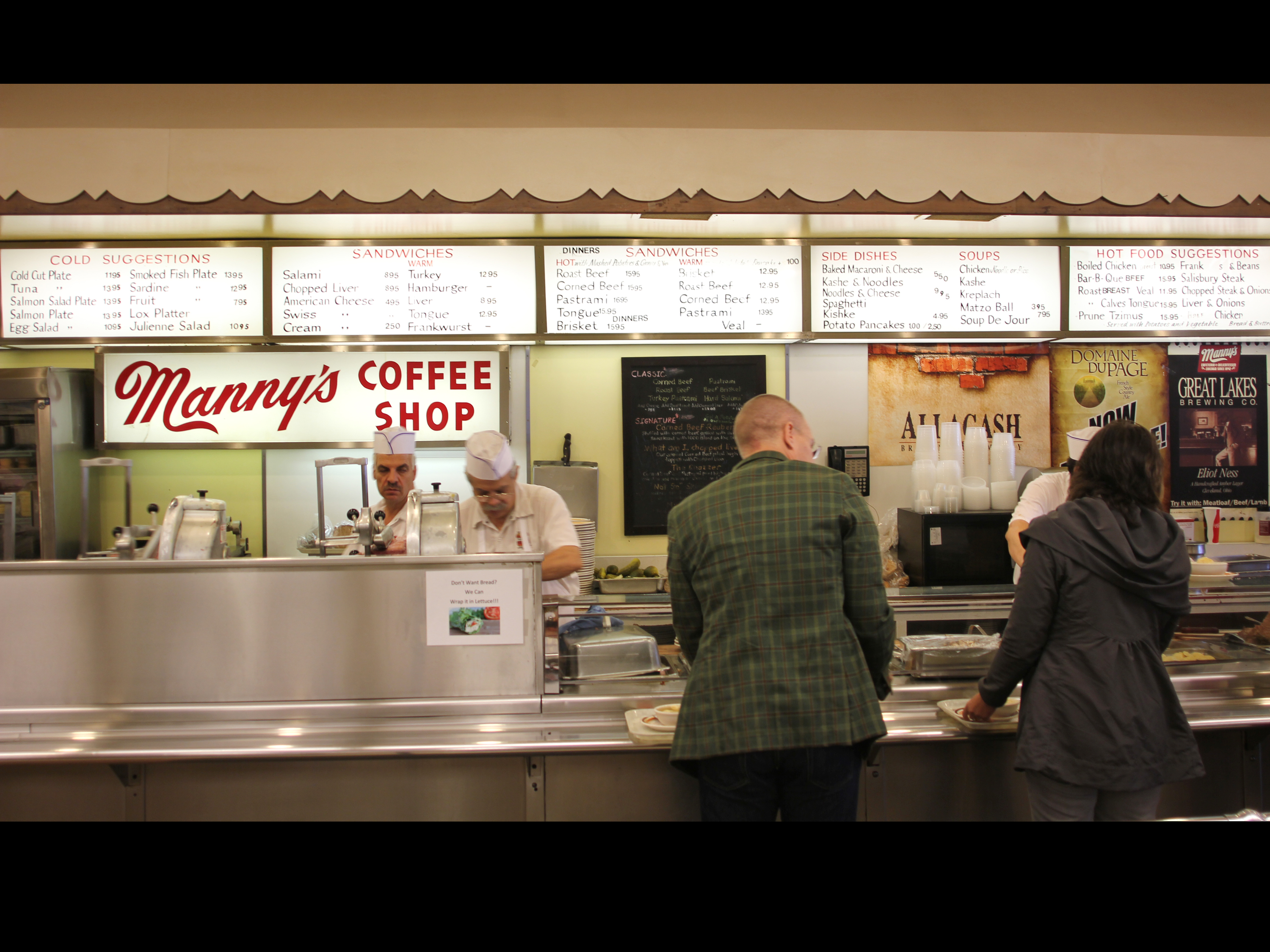 AFTER 70 YEARS, MANNY'S IS FINALLY BECOMING A DELICATESSEN