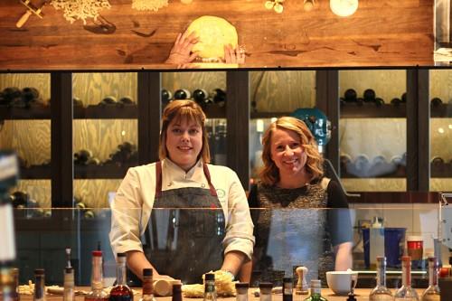 Sarah Grueneberg and Meg Colleran Sahs