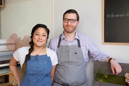 Jennifer Kim and Bill Montagne