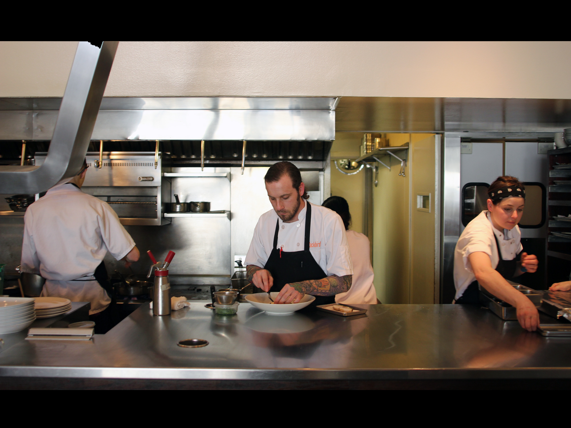 BLACKBIRD IS ONE OF THE CITY'S TOP KITCHENS. AND NOW, IT'S RYAN PFEIFFER'S