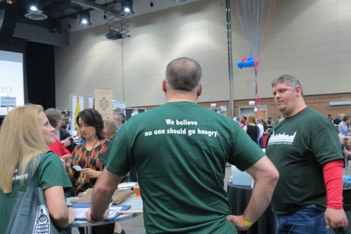 At the end of Baconfest, $50,000 would go to the Greater Chicago Food Depository.