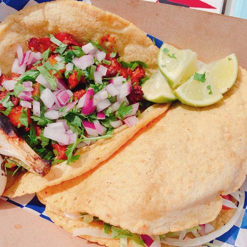 Taco al pastor from Rubi's
