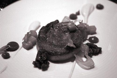 Pork belly: apple, celery root, pecan streusel