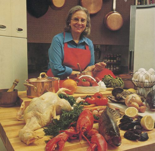 Alma Lach, from the back cover of Hows and Whys of French Cooking