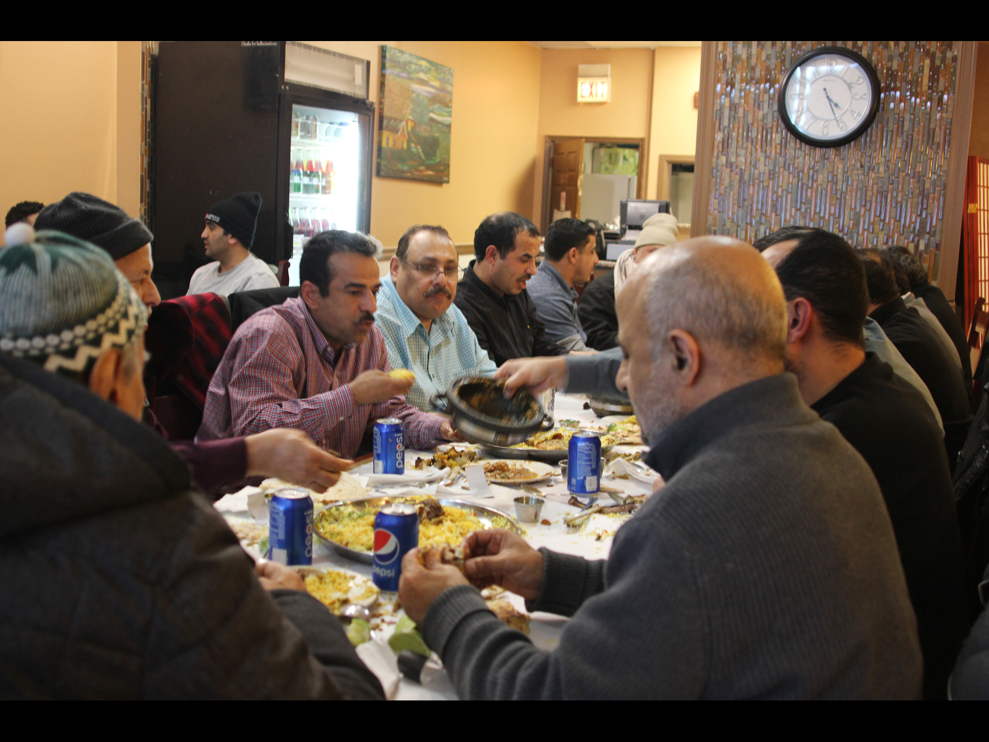 A YEMENI WELCOME AT MANDI NOOR ON LAWRENCE
