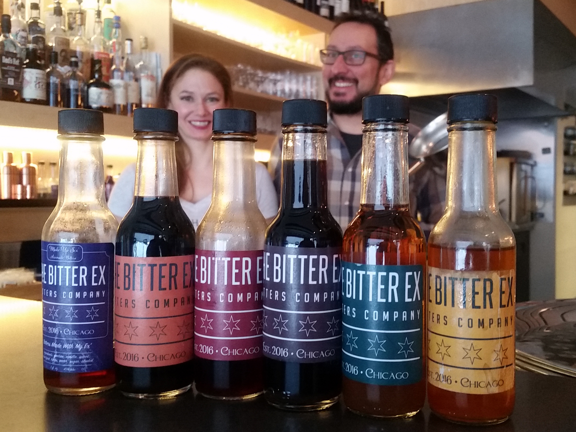 BITTER EX: GOING TOGETHER LIKE A COCKTAIL AND BITTERS
