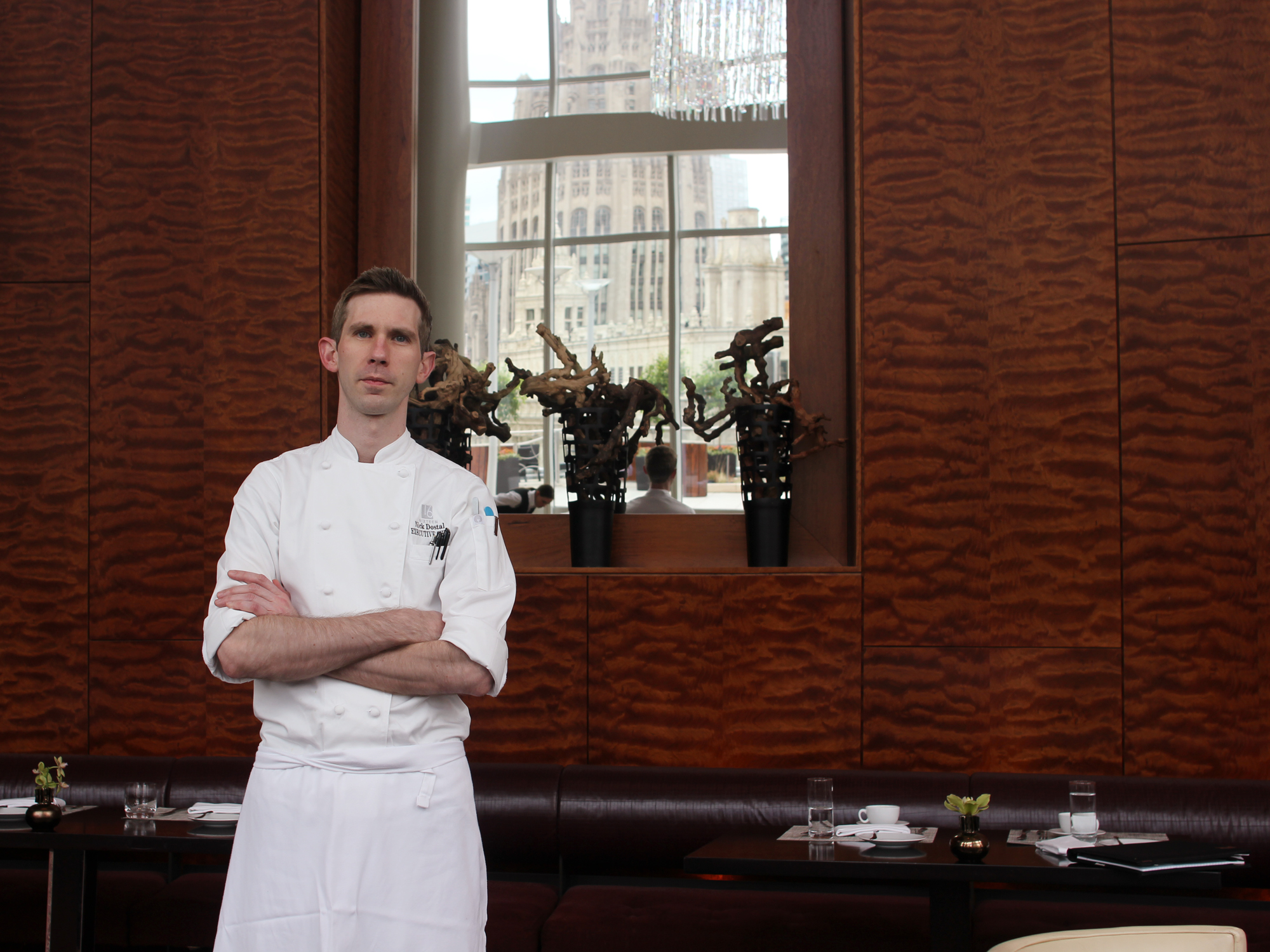MEET CHICAGO'S NEXT GREAT CHEF. WILL ANYONE TRY HIS FOOD?