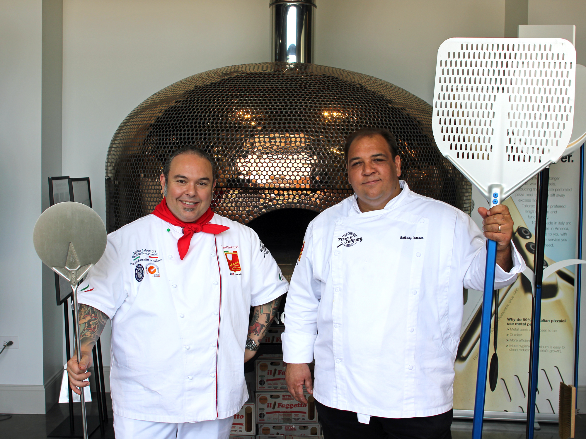 MEET YOUR INSTRUCTORS AT ITALIAN PIZZA SCHOOL