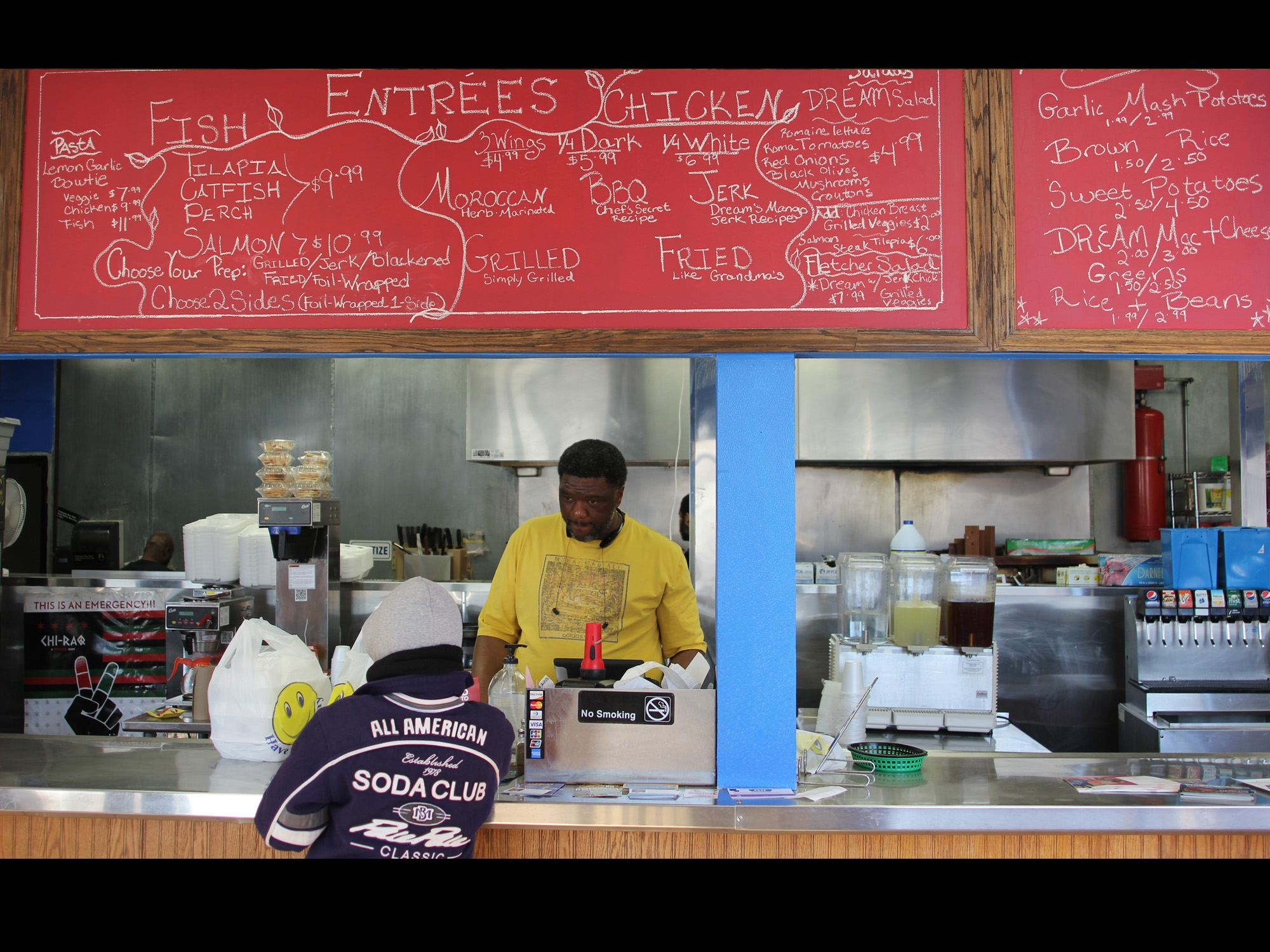 FRESHLY MADE FOOD COMES TO ENGLEWOOD AT THE DREAM CAFE & GRILLE
