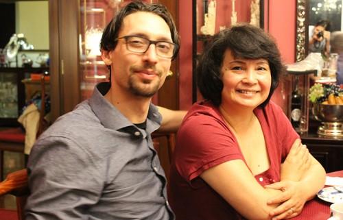 Abe with Florita Alves