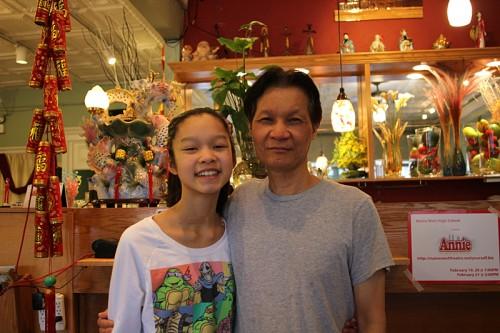 David Tran and daughter Angela