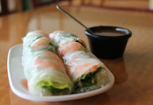 Goi cuon, Vietnamese spring rolls—a key gateway food to Vietnamese dining in the 1980s and 1990s