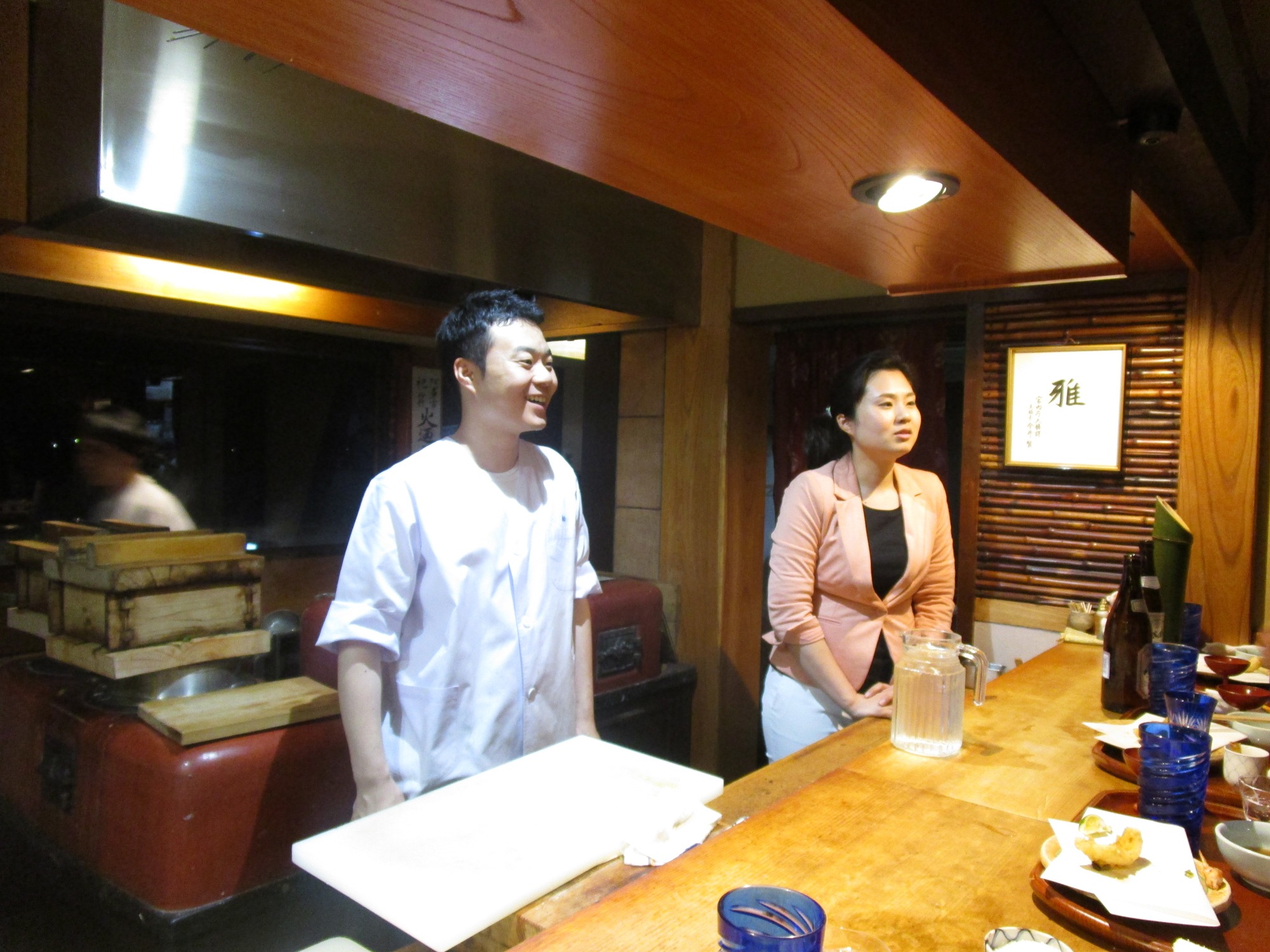 DINING AT TEMPURA MATSU, THE EL IDEAS OF KYOTO
