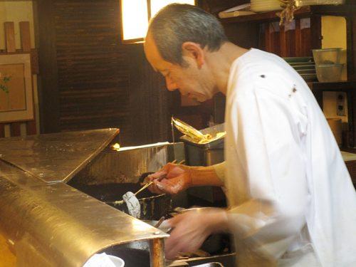 Tempura master Hirofumi Oyagi