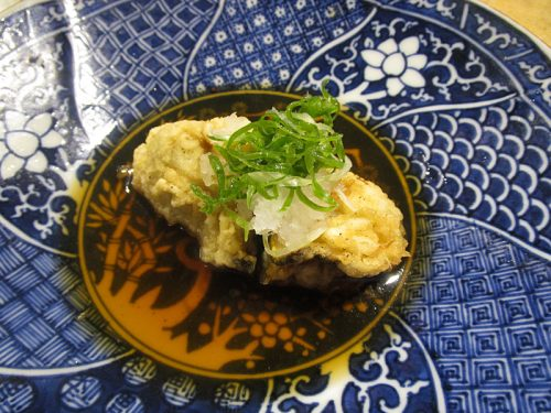 Tempura oyster