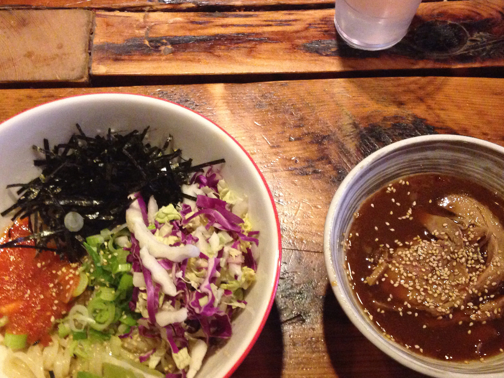 SEE FURIOUS SPOON MAKE TSUKEMEN FROM THE NOODLES UP