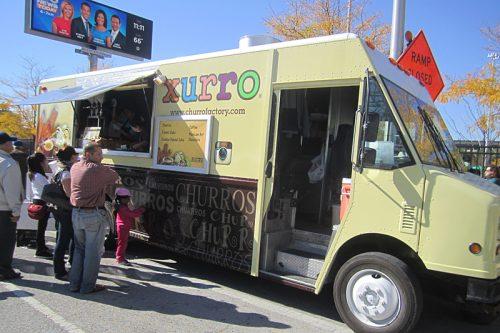 Churro truck
