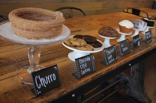 Andrew Pingul's desserts