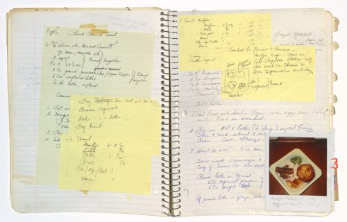 Notes upon notes, c. 1986