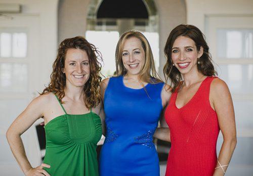 Molly Each, Liz Grossman and Rachel Gillman Rischall