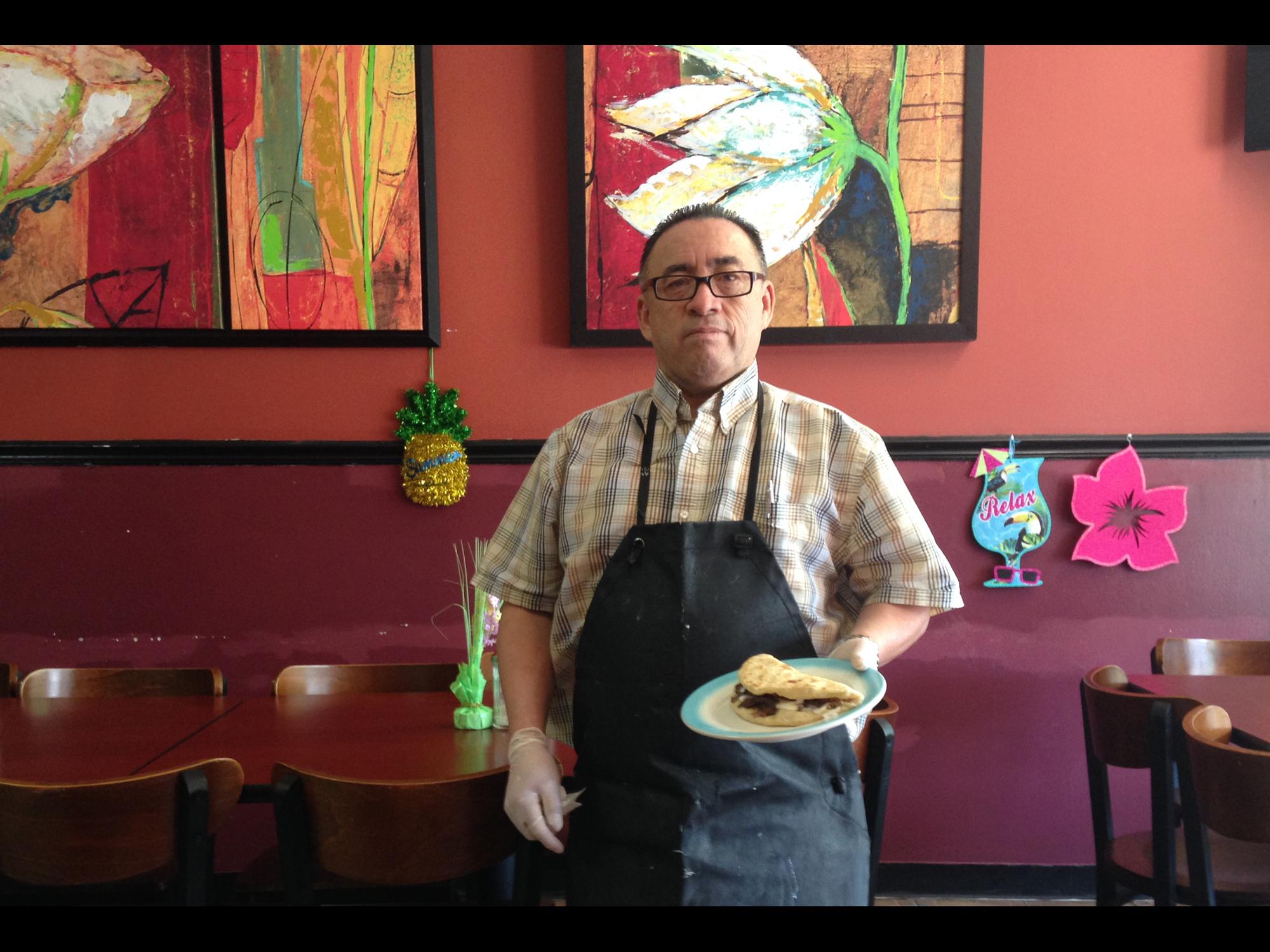 MEET THE BALEADA KING OF CHICAGO, AT CAFE IZALCO