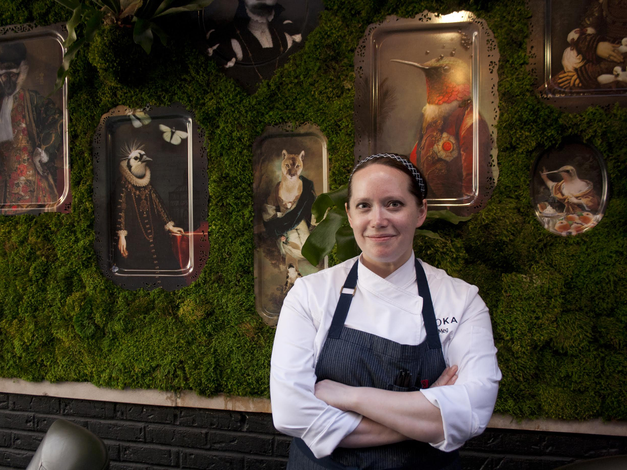 MAKING DESSERTS TO FIT: MEG GALUS OF BOKA AND SOMERSET
