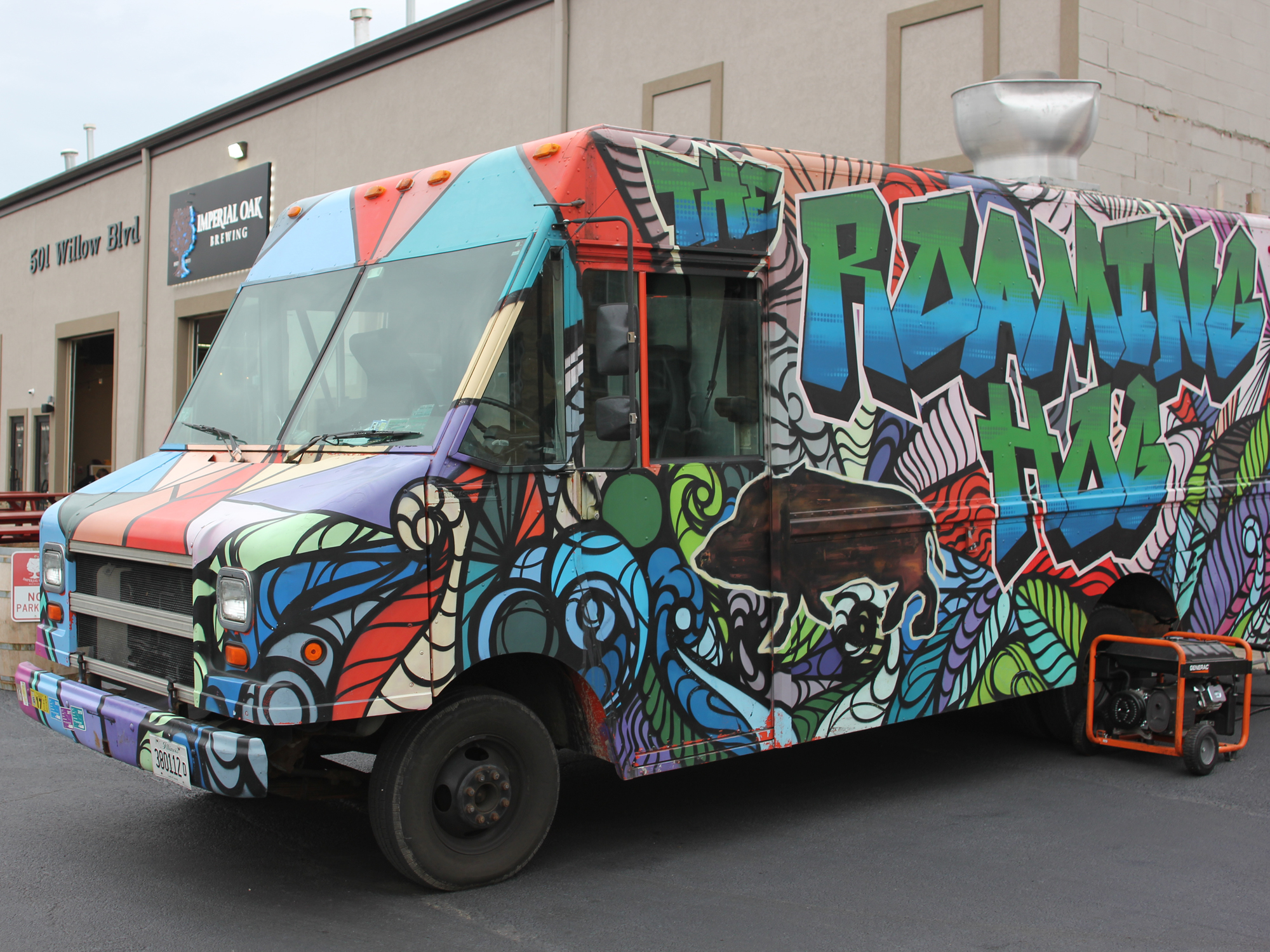 THE FOOD TRUCK DREAM IS ALIVE AND WELL—AT BREWERIES IN THE SUBURBS