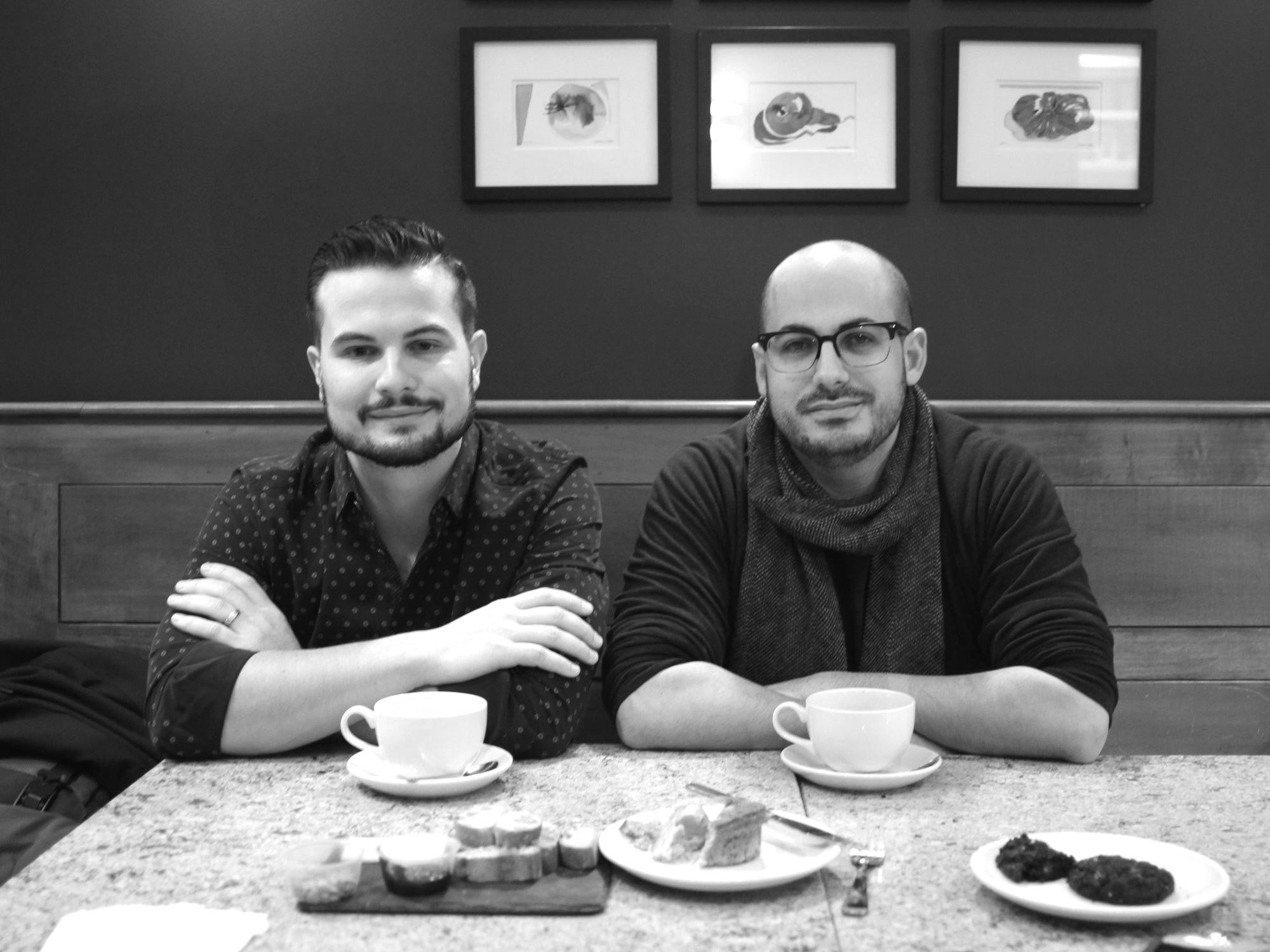COFFEE WITH ZACH ENGEL AND ANDRÉS CLAVERO OF GALIT