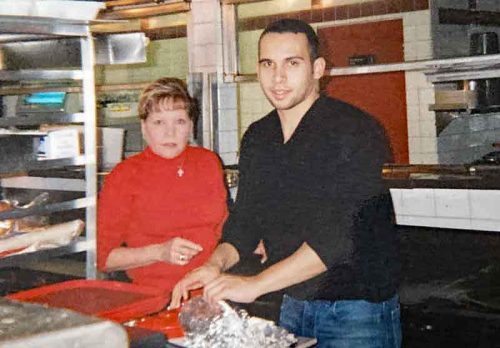 Mama Josie and Pepe Barajas, 2004